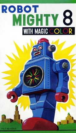 Robot Mighty 8 with Magic Color 1950