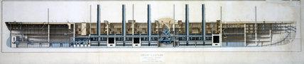 PSS 'Great Eastern', 1853.