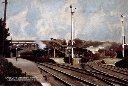 Sandling Junction Station.