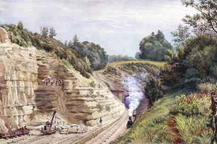 North end of Sevenoaks Tunnel, Kent, 1868.