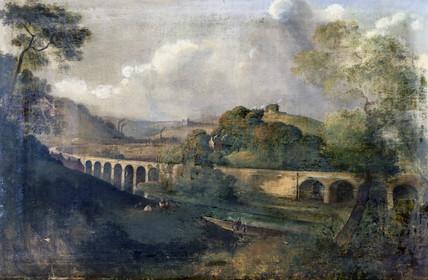 Helmshore Viaduct, Lancashire, c 1850-1870.