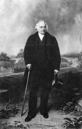 John Ellis, MP and railway chairman, c 1850s.
