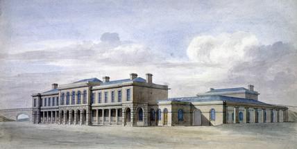(Old) York Station, c 1870.