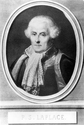 Pierre Simon, French physician, mathematician and astronomer, c 1800.