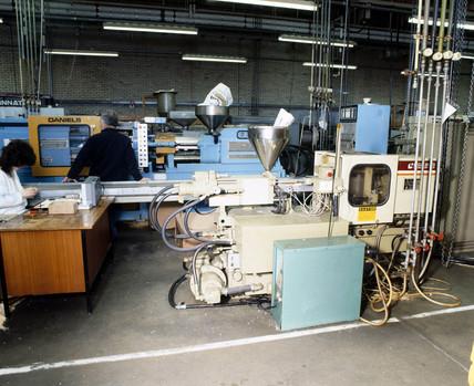 Automic 'Negri Bosi' injection moulding machines, c 1985.
