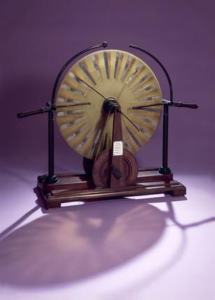 Wimshurst's electrostatic machine, 1882.