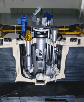 Dounreay prototype fast reactor, 1982.