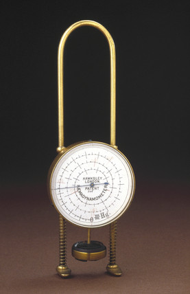 Haemodynamometer, c 1900.