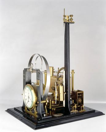 Gray-Milne seismograph, 1885.