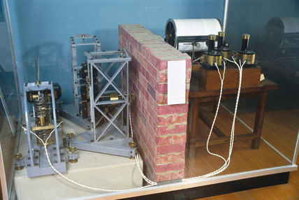 Galitzin three-component seismograph, 1910.