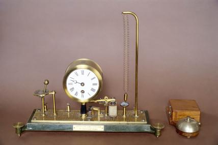 Brasart seismoscope, 1884.