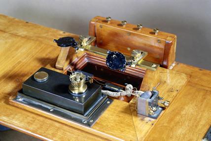 Milne double boom seismograph, 1908.
