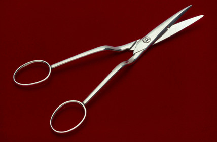 Scisors for cutting the umbilical cord, 20th century.