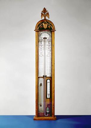 Domestic Fitzroy's barometer, c 1860.
