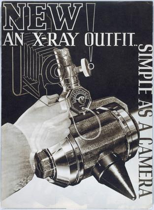 X-ray brochure, 1930s.