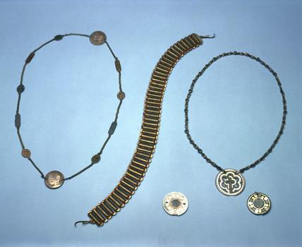 Electrogalvanic amulets, 1870-1935.