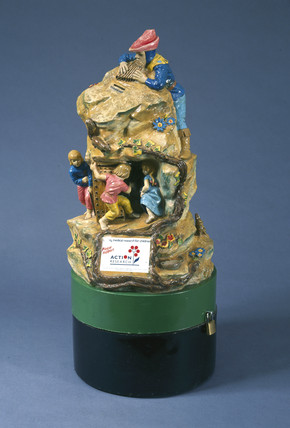 Fairy Tree collecting box, 1957.