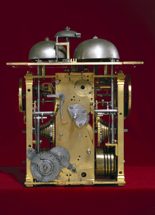 Mechanism from an Augsburg clock, c 1630.