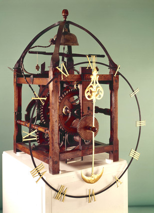 Turret clock, German, 1643.