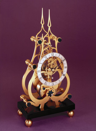 Skeleton clock, 1972.