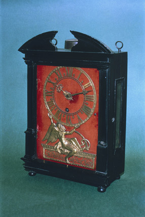 Bracket clock, Dutch, c 1675.