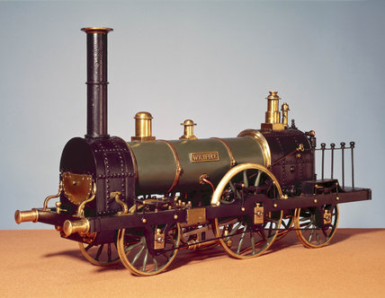 'Wildfire' 2-2-2 no 8 steam locomotive, 1839.