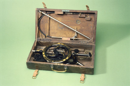Dental treadle engine, 1890-1915.