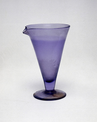 Glas flask used by Marie Curie, late 19th-early 20th century.