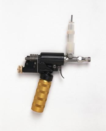 'Med-E-Jet' inoculation gun, United States, 1980.