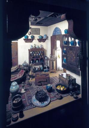 Medieval Arab pharmacy, reconstruction.