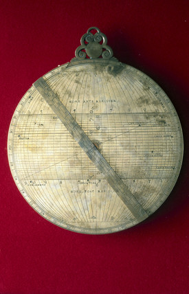 Astrolabe, Italian, 1572.
