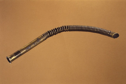 Endotracheal tube, late 19th century.