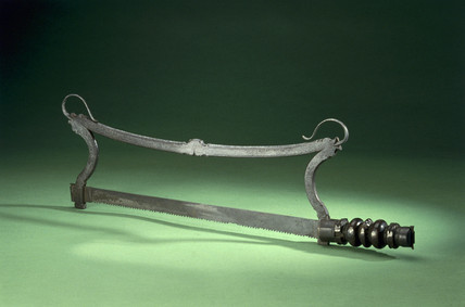 Amputation saw, 17th Century.