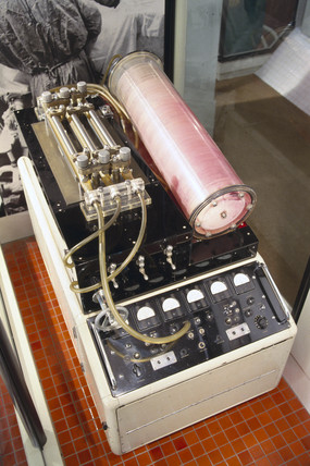 Heart-lung machine, English, c 1958.