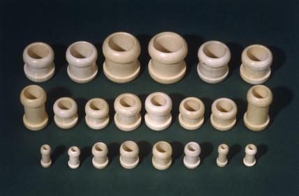 Gastro-intestinal bobbins, 1880-1920.