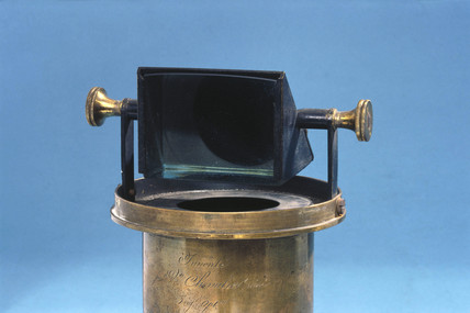 French tent type camera obscura, 1826-1850.