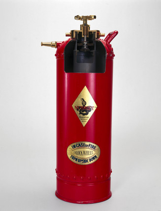 Two gallon 'Nuswift' foam producing  extinguisher, 20th century.
