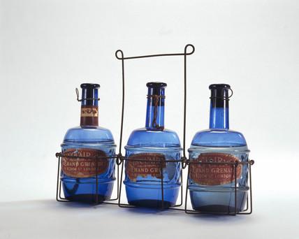 Sinclair hand fire grenades, c 1880.