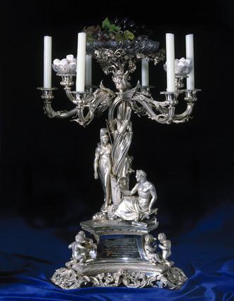 Commemorative candelabrum, 1839.
