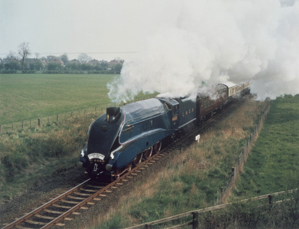 'Mallard', London & North Eastern Railway locomotive no 4468, 1938.