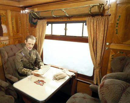 'Topaz' first clas parlour car, Pullman Ca