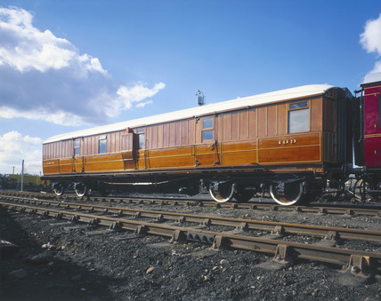Pasenger brake van, LNER, East Coast Joint