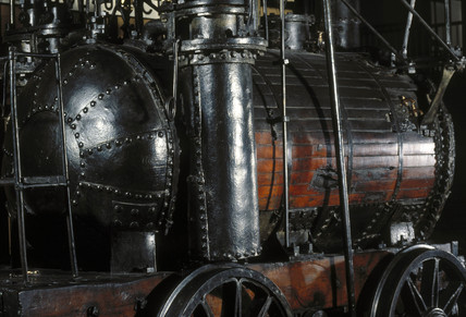 'Puffing Billy' steam locomotive, 1813.
