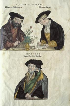 Albrecht Mayer, Veil Rudolph Speckle and Heinrich Fullmaurer, 1545.