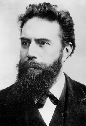 Wilhelm Conrad Roentgen, German physicist, c 1890.