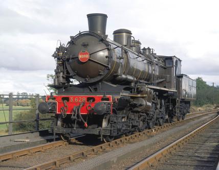 French 4-6-0 compound locomotive no 3628, 1911.