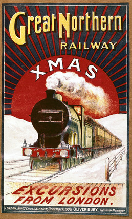 Advertising brochure for the Great Northern Railway, 1905.