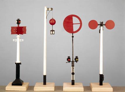 Various railway signals, c 1837-1846.