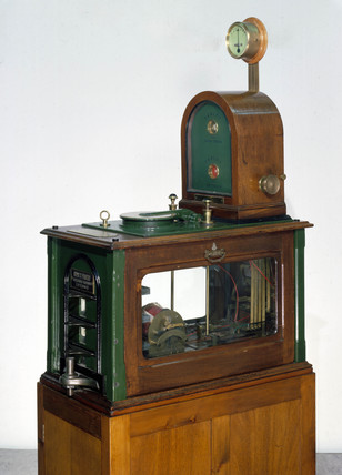 Tyers no 6 train tablet instrument, 19th-20th century.