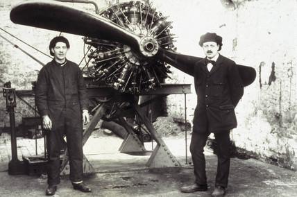 Salmson aero engine, c 1911-1918.